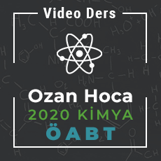 2020 Kimya ÖABT - Video Ders Paketi