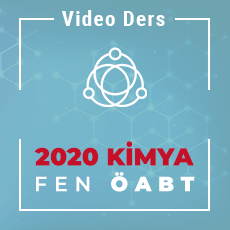 2020 Fen ÖABT Kimya  - Video Ders Paketi