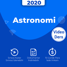 Astronomi - Video Ders Paketi